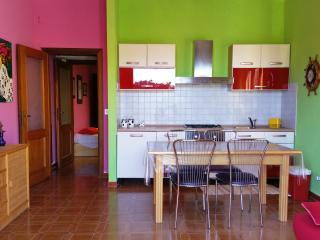 Appartamento con cortile vista mare vicino Tropea, Briatico