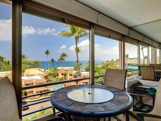CENTRAL A/C!  PANORAMIC SUNSET OCEAN VIEWS!, Kihei