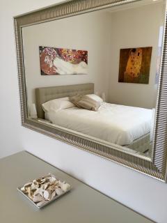 The large master bedroom, details