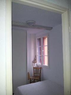 Chambre lit double Collioure, résidence du Soleil