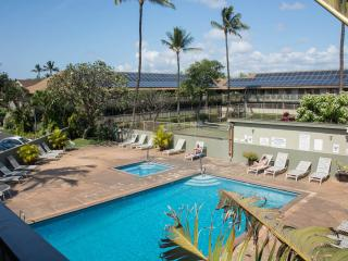Ocean view studio 1k ft from water in Kihei!
