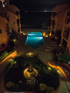 Beautifully lit at night