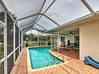 Astounding 3BR Waterfront Home in Cape Coral w/Wifi, Private Screened-in Pool & 30-Foot Boat Dock/Lift - Centrally Located Only 5 Minutes to the Caloosahatchee River!