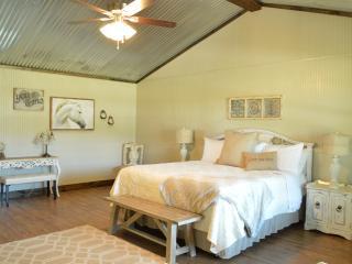 White Horse@Vineyard Trail Cottages, Fredericksburg