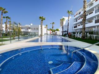 New Build 2 Bed Apartment with great pool & garden, Villamartin