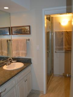 Newly remodeled second bathroom