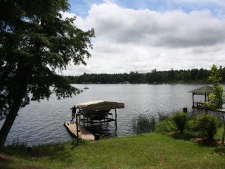 Lake front cabin, fishing, boating, relaxing, Land O' Lakes