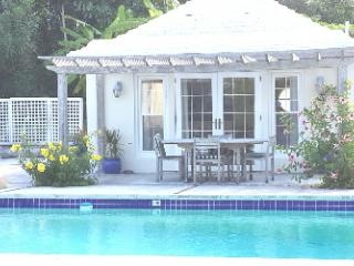 Pool House in a garden setting, Smith's Parish
