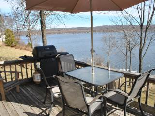 Waterfront Cottage on Honeoye Lake, stunning view