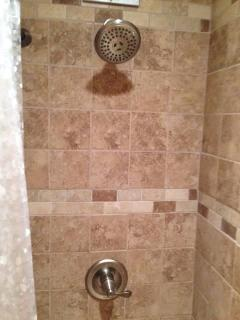 Nice tile walk in shower