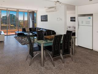 Open Plan Living and Dining Area with View