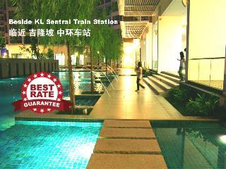 KL Sentral Premier Apartment near LRT, 1-9pax, #1, Kuala Lumpur