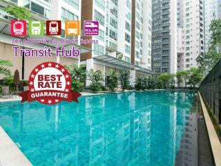 KL Sentral Premier Apartment near LRT, 1-6pax, #2, Kuala Lumpur
