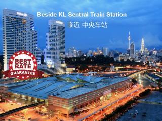 KL Sentral Premier Apartment near LRT, 1-7pax, #3, Kuala Lumpur