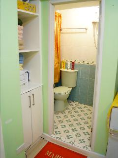 Comfort Room 2 - Toilet Bowl & Hot & Cold Shower (sink is on the left part of the photo, hidden)