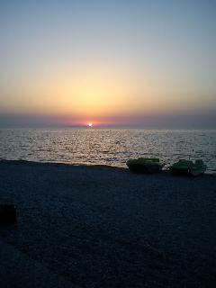 Acharavi Beach Sunset