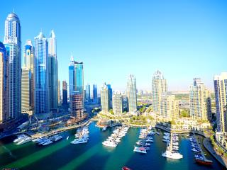 Maha, 3BR with Stunning Marina view, Dubai