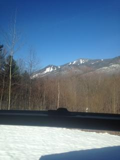 Whiteface ski resort view from the deck this is awesome