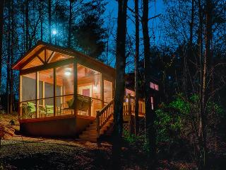 End of the Road Cabin F -Screened Porch, Private Hot Tub - Close to Lake Lure !