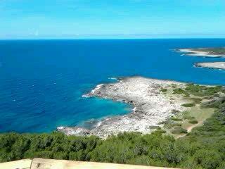 Vista dalla Torre del Parco Naturale di Porto Selvaggio a 1km dalla nostra casa vacanza,