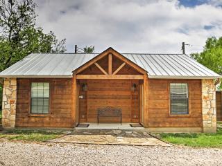 Rustic Lakehills Cabin w/ Deck & Splendid Views!