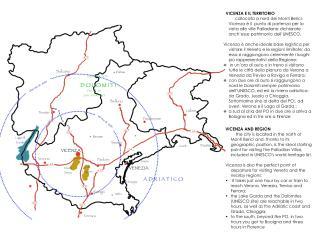 Vicenza  come base logistica per visitare il Veneto