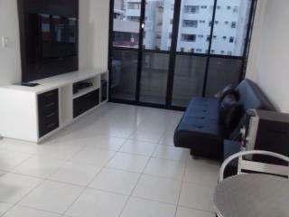 Quarto e sala no coração da Ponta Verde, Maceió