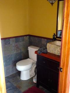 main entertaining area bathroom