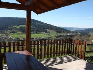 Location plein sud avec vue sur vallée Gerardmer, Cleurie