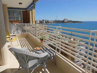 Apartamento primer linea playa Albufereta, Alicante