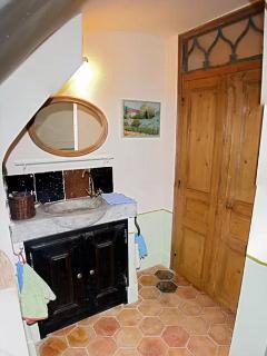 cabinet de toilette du rez-de-chaussée