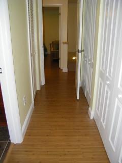 New wood floors upstairs