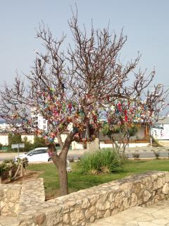 Church of Profitis remembrance tree