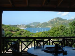 Zandoli - Caribbean style with spectacular views!, English Harbour