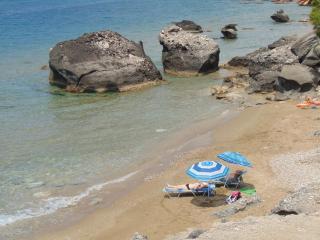 Beach front Wohnung-, Agios Gordios