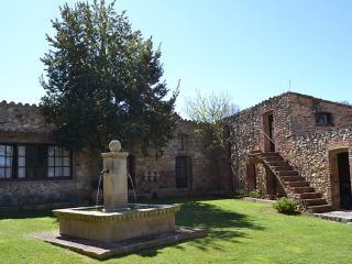 fuente jardín principal
