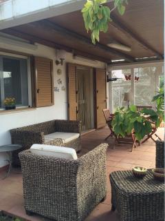 veranda arredata