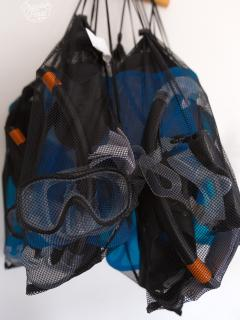 Snorkeling kits available