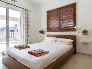 Master Bedroom with access to the large sun terrace.