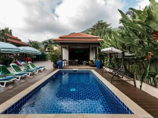 PEN,S, WONDERFUL 5 BEDROOM VILLA, PRIVATE RESORT,KAMALA,PHUKET,for LARGE GROUPS.