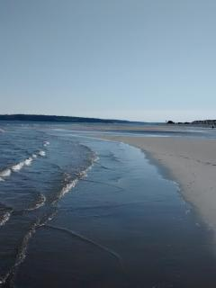Low tide creates spellbinding sandbars