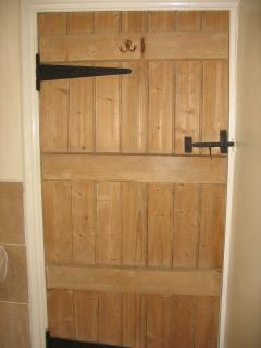 characterful wooden doors throughout