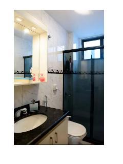 Banheiro da suite completo