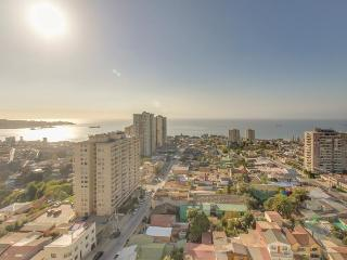 Cozy condo with ocean and city views & rooftop swimming pool!, Valparaíso