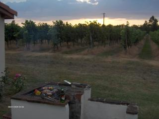 Gite Barbeque at sunset