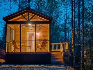 Wooded Tiny Retreat With Large Shared Gazebo and Fire Pit