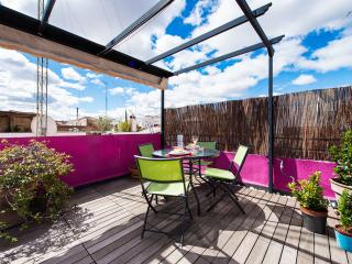 Attic with terrace in city center-Madrid - WIFI