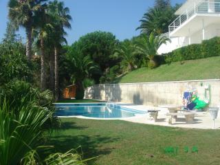spectacular seaview villa 15 km Barcelona near golf