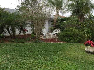 Walk to the beach from this peaceful, pet friendly, Ormond Beach