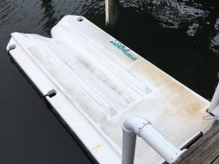 Jet ski dock for your use and to launch kayaks